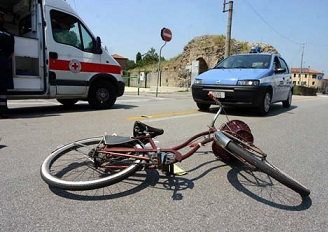 Incidente in bicicletta in stato d'ebbrezza