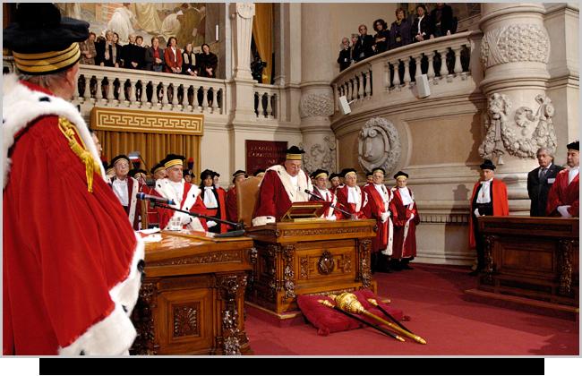 Giudici della Corte di Cassazione di Roma